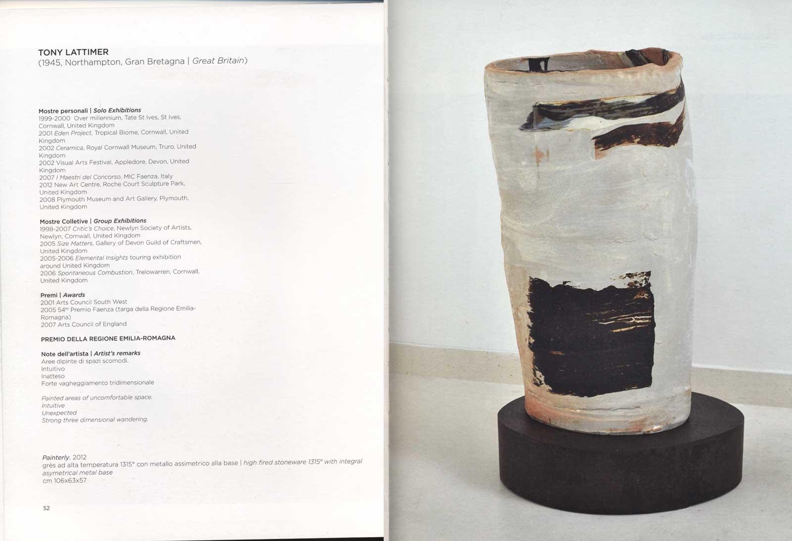 2013 58th Internatonal Competition of Contemporary Ceramic